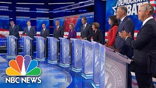 Watch Highlights From Round 1 Of The First Democratic Debate | NBC News