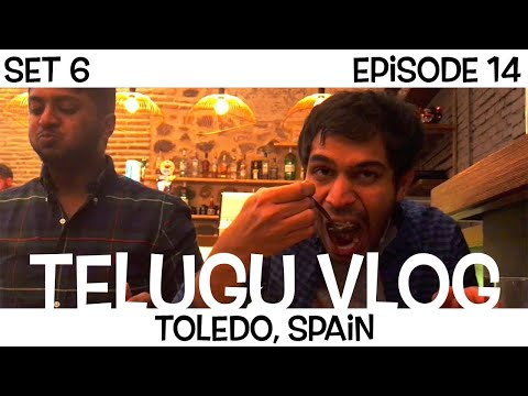Cannot find food in SPAIN at night | Telugu Vlogs | Part 4