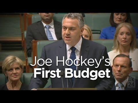 In Full: Joe Hockey hands down budget