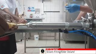 ONMART  Eclairs Filling Machine  Ekler Dolum Makin
