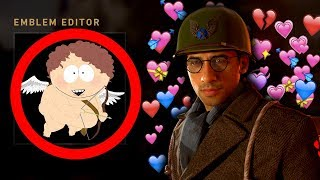 COD WW2 - EMBLEM BATTLE #1 - VALENTINE'S DAY SPECIAL! (Funny Emblem Competition)
