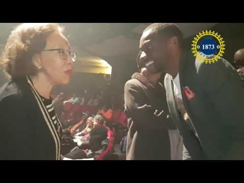 Dr Tshepo Motsepe, wife to Deputy President Cyril Ramaphosa at the Market Theatre MP3