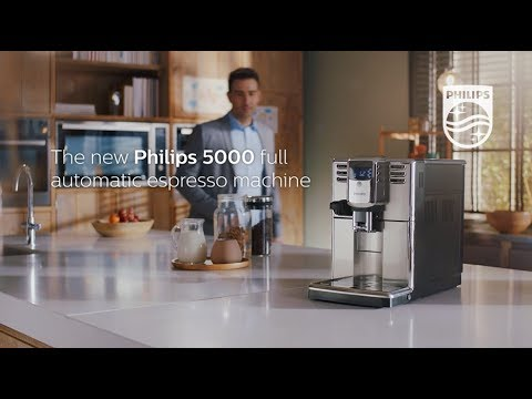 Philips Series 5000 full automatic espresso machine | Lifestyle video