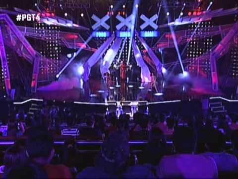 CRIS BERNARDO of PILIPINAS GOT TALENT 4 (Quarter Finals)