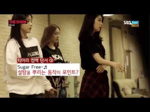 140902 The Show News MC Jiyeon cut #1