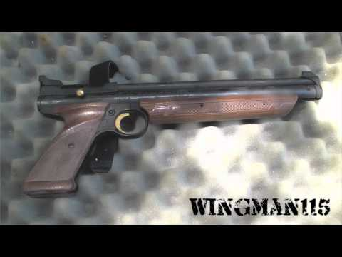 Crosman 1377 Pellet Pistol Chrony Test