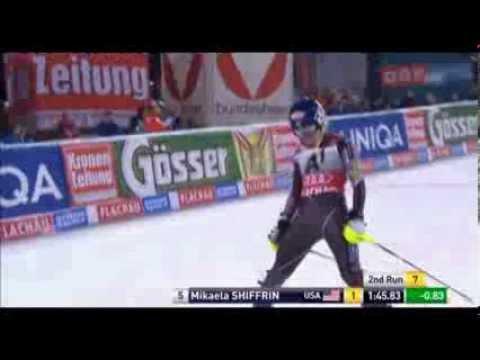 Slalom Flachau 2014   Mikaela Shiffrin   Run 2