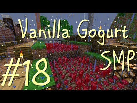 "Minecraft: Vanilla Gogurt SMP - E18 - ""Community Fretwell"" (M482)"