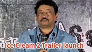 RGV Ice Cream 2 Movie Trailer Launch || Ram Gopal Varma || J.D Chakravarthy0