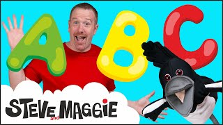 ABC Song - Alphabet Song from Steve and Maggie for Kids | Learn, Speak English with Wow English TV