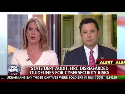 Chaffetz:  Hillary Clinton needs to come clean - Outnumbered, 5/25/16