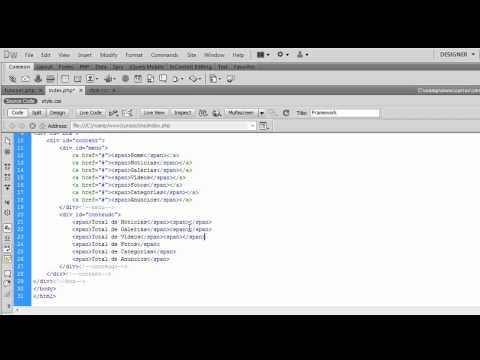Criando Um CMS Com PHP - Desenvolvendo o Layout