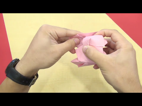 Conrad's Modified Kawasaki Origami Paper Rose - Tutorial v3.