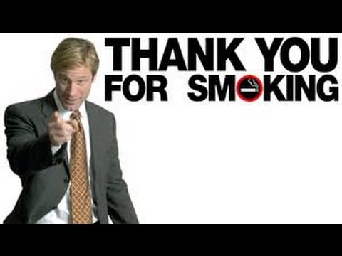 thank you for smoking essay