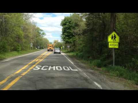 Driving from Commerce Township, Michigan to Charter Township of Oakland, Michigan