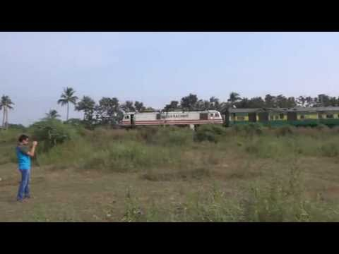 Bdts Dee Garib Rath Express Upgraded From Diesel to Electric Locomotive Flexing Its Muscles