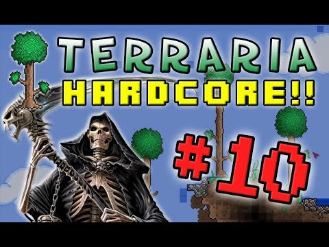 Terraria Hc #2! - Part 10 (death Race!) video