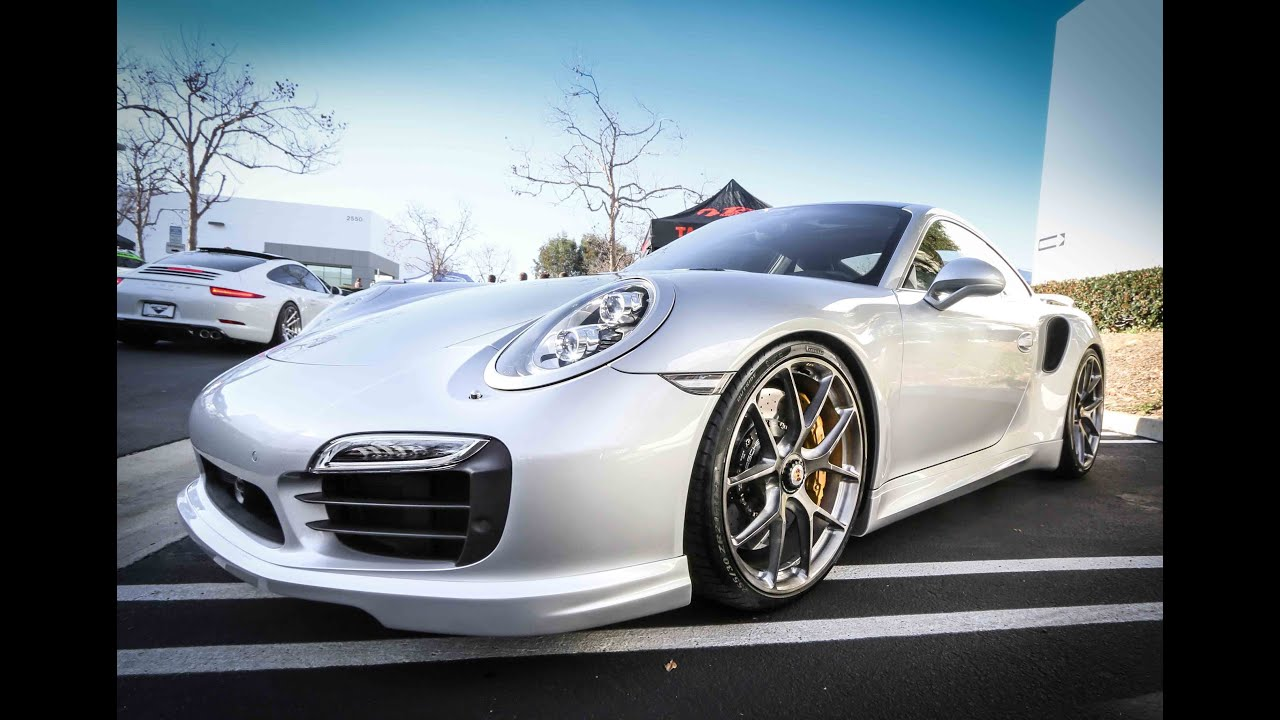 2014 Techart Porsche 911 Turbo S Up Close Youtube