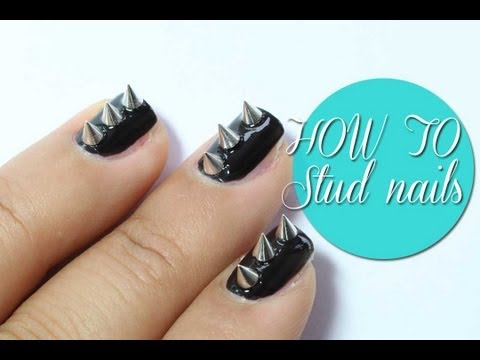How to: studs nail art