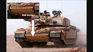 Exclusive Footage On How The Tank Armour On Challenger 2, Leopard 2 And Abrams M1A2 Works