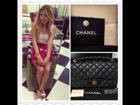 My CHANEL Classic Double Flap and PRADA Haul- (Unboxing Video)