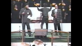 "Gerald Thompson and Pastor Flemming, Sr. Sings ""Jesus Saves"""