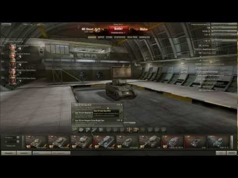 World of Tanks: The Armoury: M5 Stuart