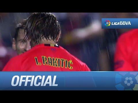 Amazing goal of Rakitic (0-2) Levante UD - FC Barcelona