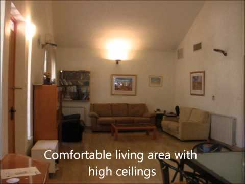 Charming penthouse in Rehavia neighborhood of Jerusalem near The Great Synagogue