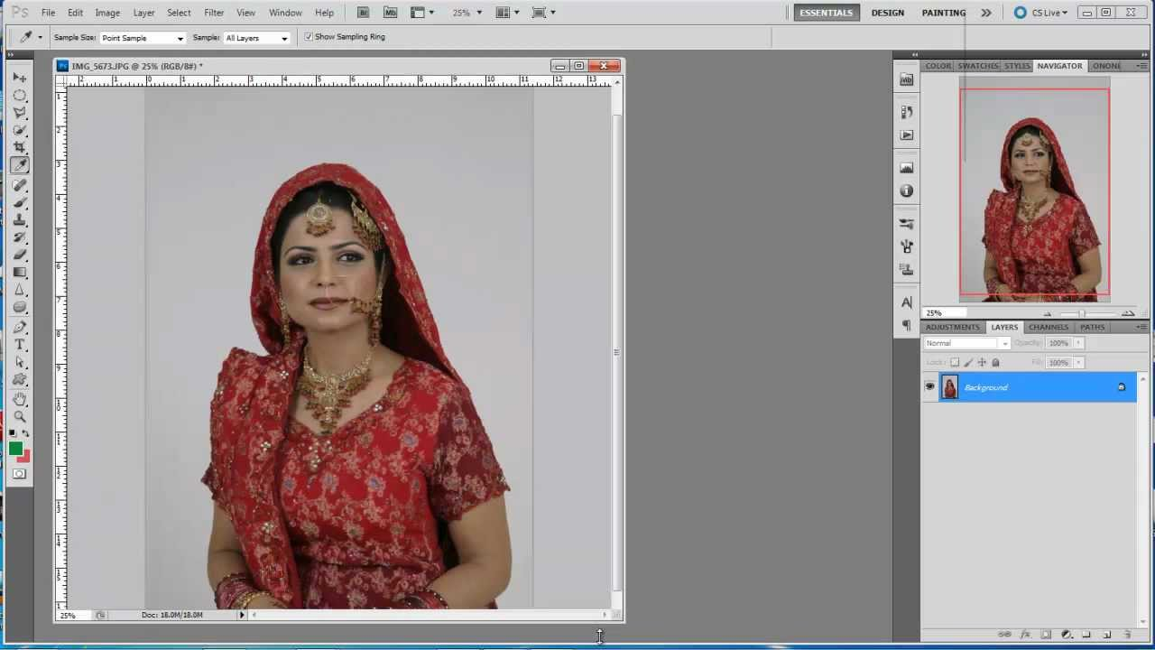 Photoshop Hindi tutorials, episode # 4, Extractions and ...