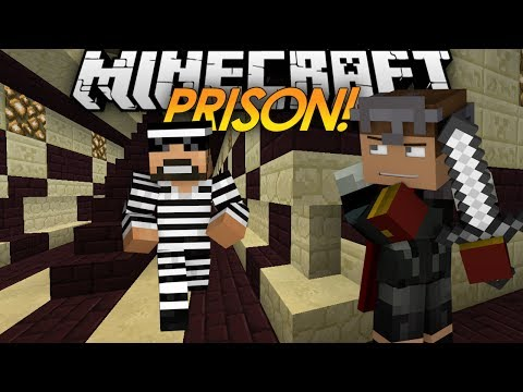 Minecraft: PRISON FIGHT Killing Guards
