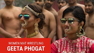Li of China Vs Geeta Phogat - super match