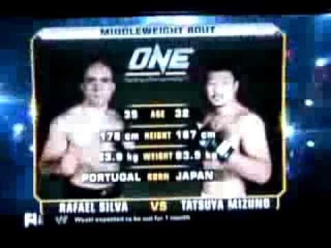 1º combate de Rafael Silva no One FC