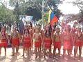 Niños pemones cantando Venezuela