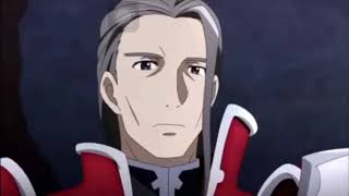 "Sword Art Online Memory Defrag! ""Kirito vs Heathcliff- the finale"" with anime scenes"