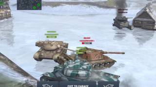 World of Tanks Blitz - Perfect pincer