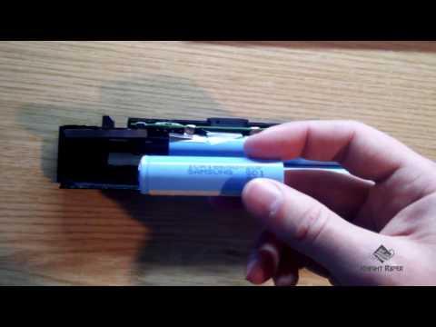 Отсоединение элементов питания типа 18650 с общей сборки (аккумулятора ноутбука)