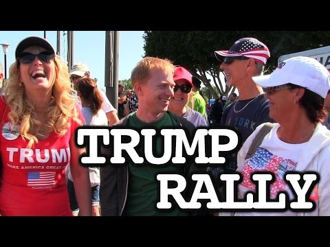 Joe Goes To A Donald Trump Rally
