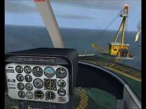 FSX mission: Oil Rig Transport