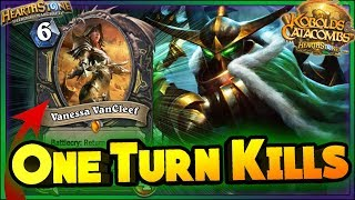 Hearthstone ▶ ONE TURN KILLS - WTF & RNG MOMENTS