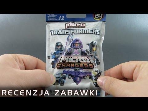 Tajemniczy Klockoformer z Saszetki - polska recenzja zabawki - Kre-O Transformers MicroChangers