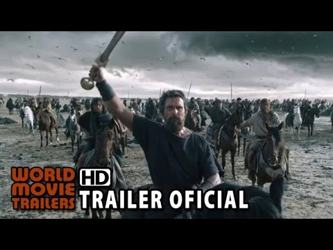 Êxodo: Deuses e Reis Trailer Oficial #2 Legendado (2014) - Christian Bale filme HD