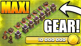 TIME TO MAX OUT!! HUGE NEW UPGRADES IN CLASH OF CLANS!! - LOOT SPENDING SPREE!
