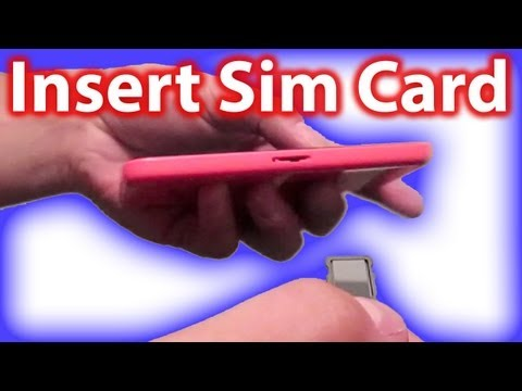 How To Insert Sim Card In iPhone 5c And How To Remove It