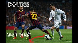 Crazy Double & Triple Nutmegs in the football history(sum)