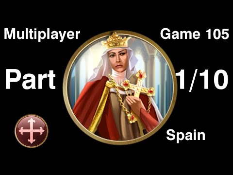 Civilization 5 Multiplayer 105: Spain [1/10] ( BNW 6 Player Free For All) Gameplay/Commentary