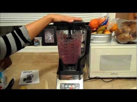1000 watt Ninja Blender Unboxing and First Use!!