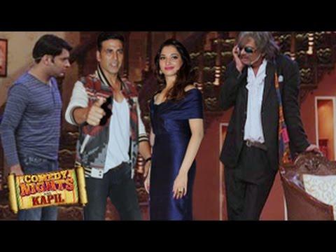 Akshay Kumar, Tamannaah Bhatia on Comedy Nights with Kapil 2nd August 2014 FULL EPISODE