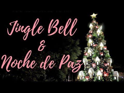 Jingle Bell & Noche de Paz VIOLIN COVER | Johnny Keller