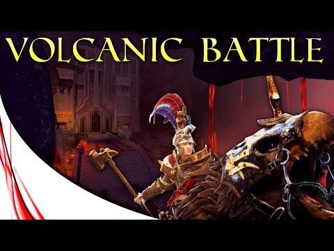 VOLCANIC BATTLE! - Total War: WARHAMMER - TACTICS!